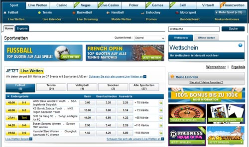 William Hill Startseite