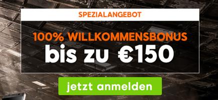 888sport Bonus 150€ Österreich