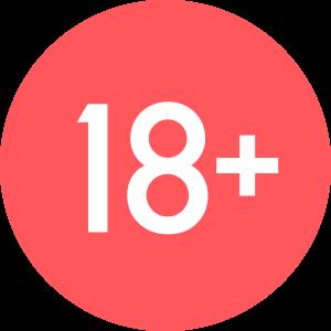 18+ symbol