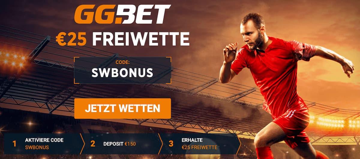 GG.Bet Bonus Code Freiwette